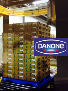 Folia stretch Danone
